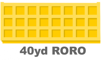 RORO Container 40yd